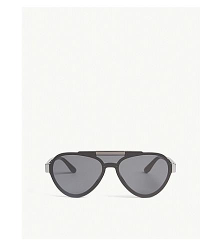 PRADA Pr01Us pilot-frame sunglasses (Black
