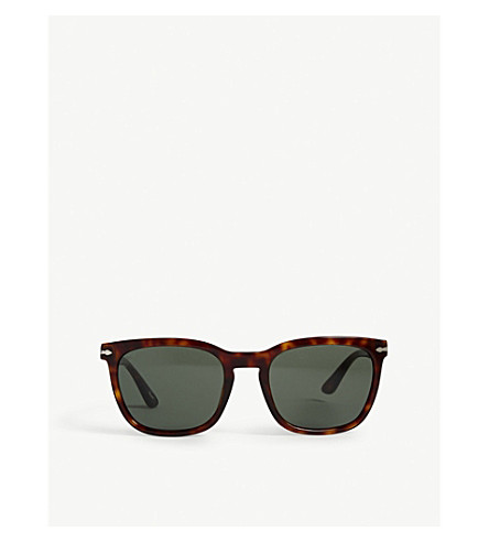 PERSOL PO3193S pillow-frame sunglasses (Black