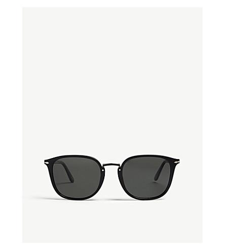 PERSOL PO3186s phantos-frame sunglasses (Black