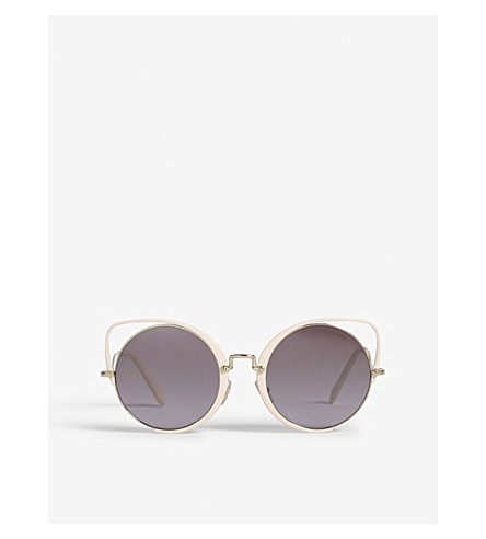 MIU MIU Mu51ts cat-eye sunglasses (Pink