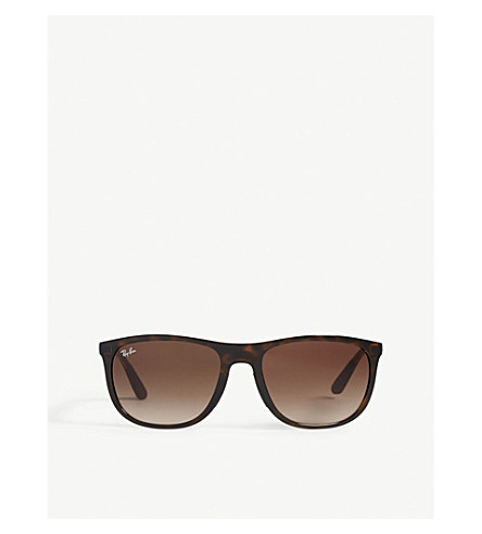 RAY-BAN Rb4291 square-frame sunglasses (Havana