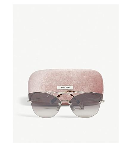 9049d41347c MIU MIU. Scenique Mu52S Butterfly-Frame Sunglasses