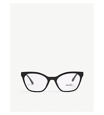 PRADA PR09UV cat-eye-frame glasses (Black