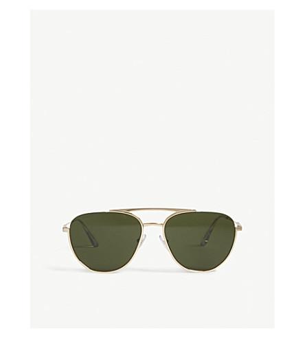 PRADA Pr50Us phantos-frame sunglasses (Gold