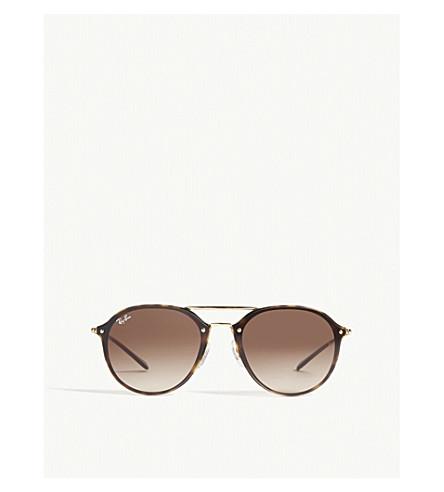 RAY-BAN Rb4292 Blaze square-frame sunglasses (Havana