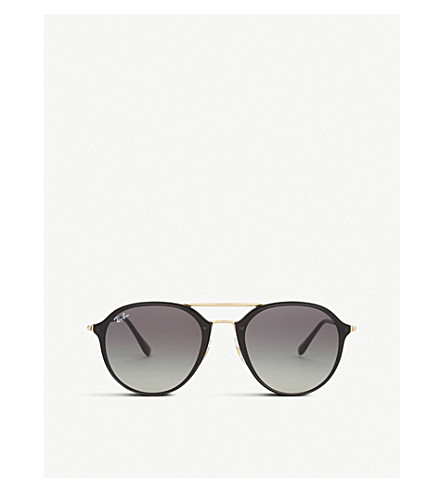 RAY-BAN Rb4292n square-frame sunglasses (Black