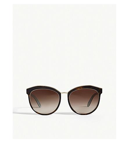 TIFFANY & CO Tf4146 Phantos Havana sunglasses (Havana