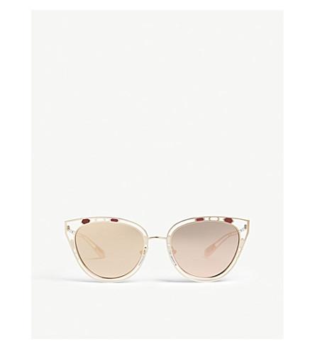 bf7898c9d5c BVLGARI Bv6104 cat eye sunglasses (Gold