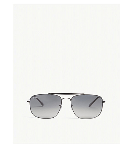 RAY-BAN Colonel square-frame sunglasses (Black