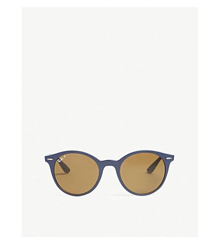 RAY-BAN RB4296 phantos-frame sunglasses (Blue