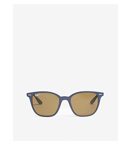 RAY-BAN RB4297 square-frame sunglasses (Blue