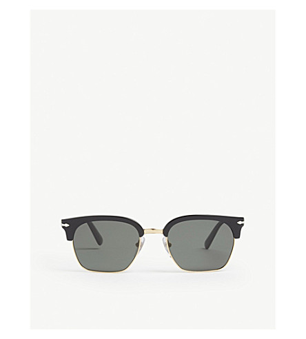 PERSOL PO3199S square-frame sunglasses (Black
