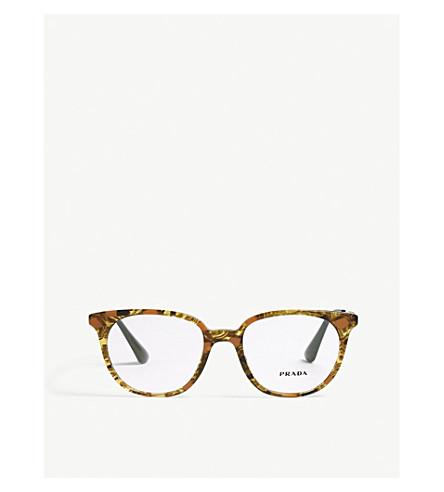PRADA Pr13uv square-frame sunglasses (Brown