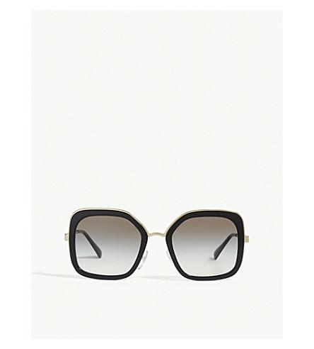 PRADA - PR57US square-frame sunglasses   Selfridges.com