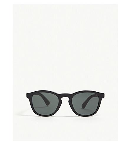 GIORGIO ARMANI Ar8112 Phantos round-frame sunglasses (Black