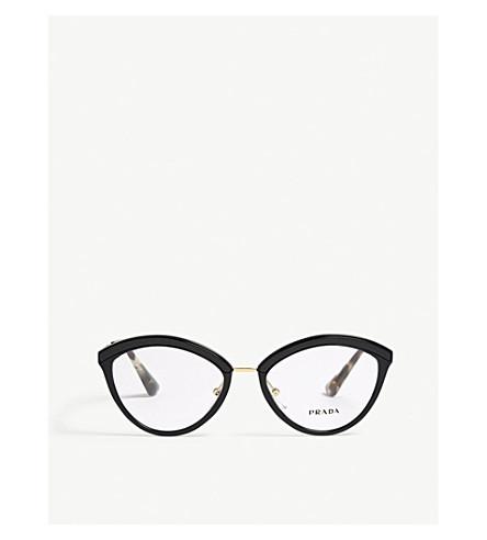 Pr14uv oval-frame glasses