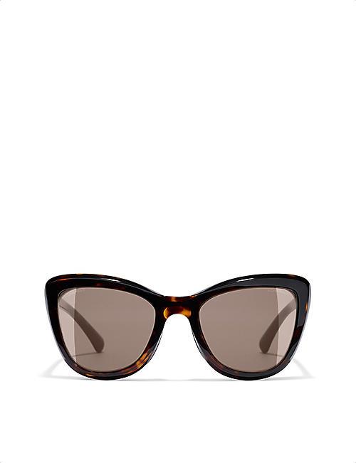 CHANEL - Sunglasses - Accessories - Womens - Selfridges   Shop Online