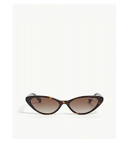 VOGUE Gigi Hadid Vo5237s cat eye tortoiseshell sunglasses