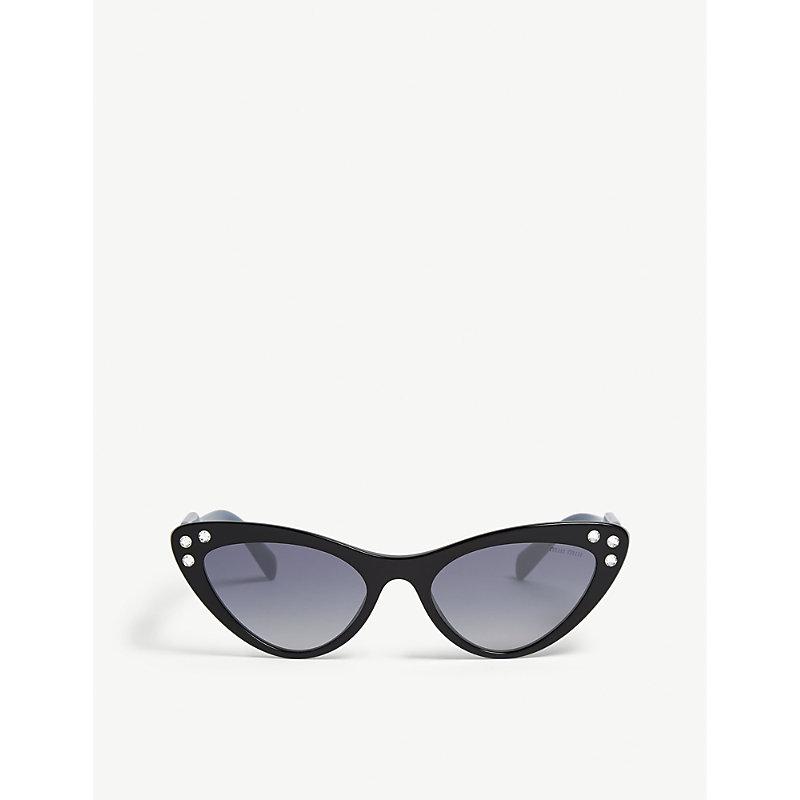 MIU MIU SMU05T cat-eye-frame sunglasses