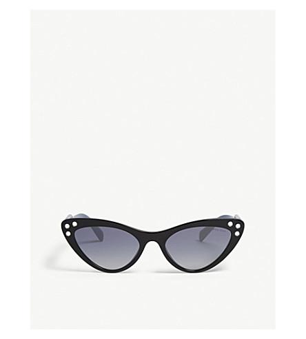 MIU MIU SMU05T cat-eye-frame sunglasses (Black