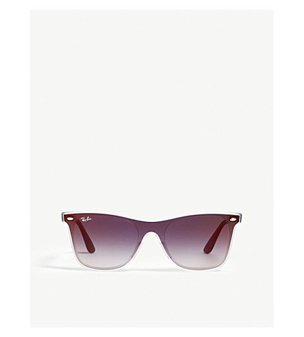 RAY BAN Acetate square-frame sunglasses