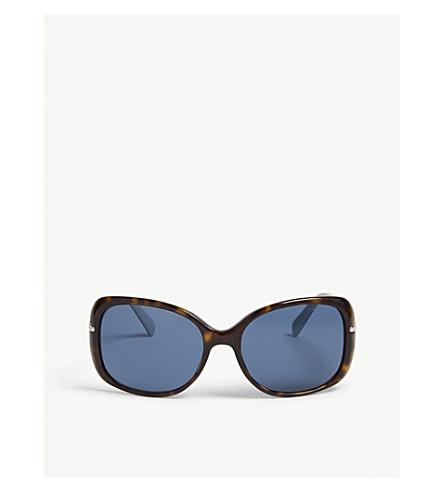 PRADA PR08OS rectangular Havana sunglasses (Havana