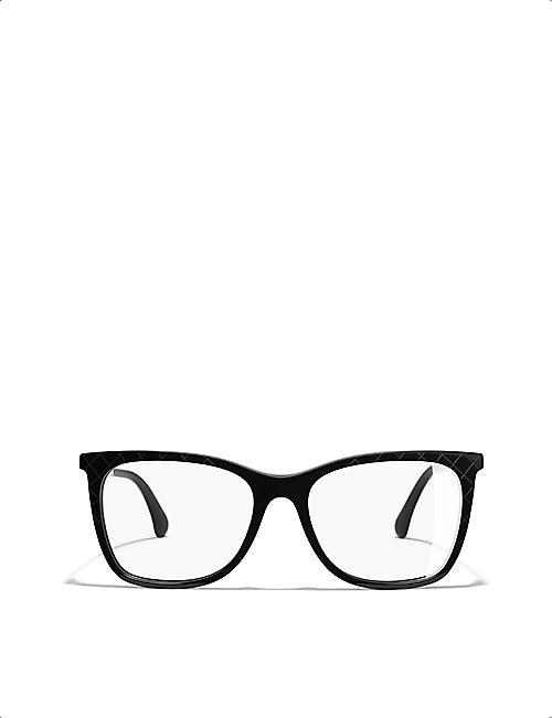 CHANEL Square glasses