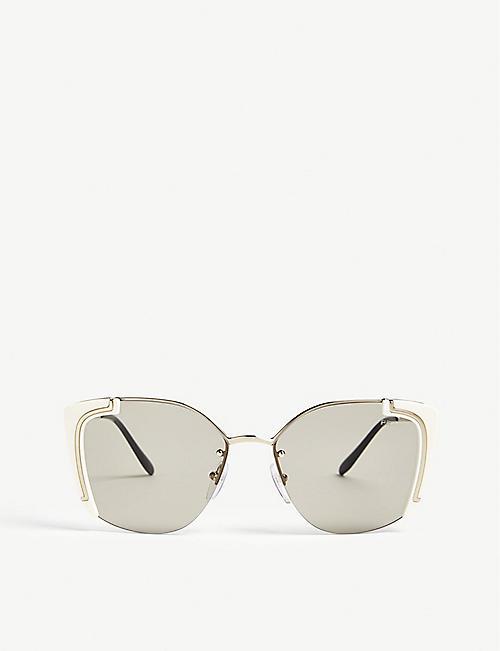 3582ab684b27 order 2012 prada runway red cat eye amber crystal sunglasses for sale ae1de  1715f; where can i buy prada cat eye frame sunglasses 0f625 6fdf4