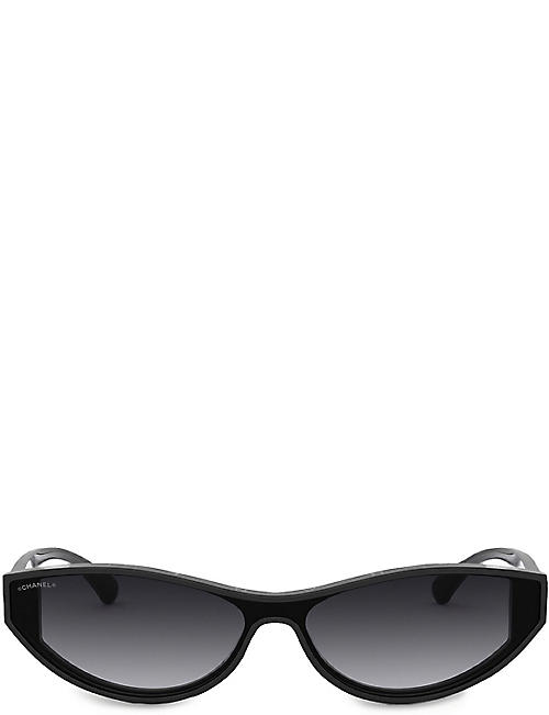CHANEL Cat-eye sunglasses