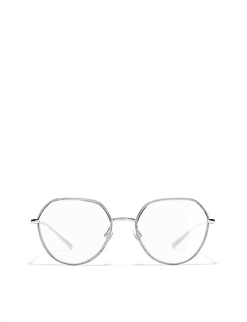 CHANEL Round glasses