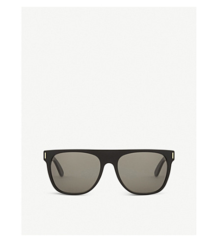 RETRO SUPER FUTURE Nim3 square-frame sunglasses (Black
