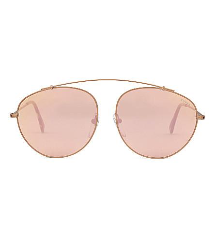 RETRO SUPER FUTURE W13 aviator sunglasses (Yellow