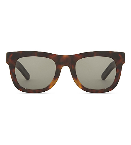 RETRO SUPER FUTURE Ciccio square-frame sunglasses (Tortoise