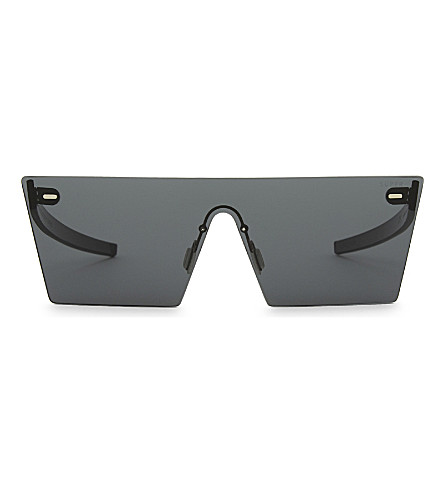 RETRO SUPER FUTURE Tuttolente square-frame sunglasses (Black