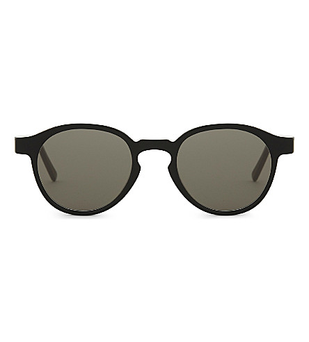 RETRO SUPER FUTURE The Iconic Series round-frame sunglasses (Black