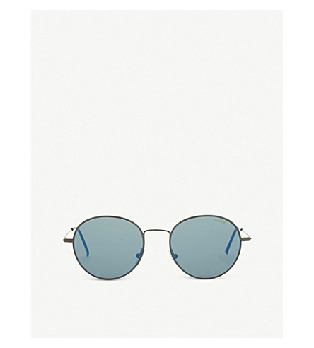 RETRO SUPER FUTURE Zero round-frame sunglasses (Grey