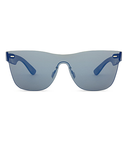 RETRO SUPER FUTURE Tuttolente square-frame sunglasses (Blue