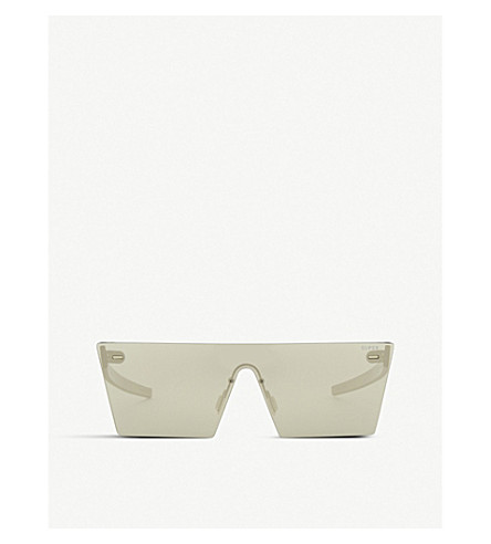 RETRO SUPER FUTURE Tuttolente square-frame sunglasses (Ivory