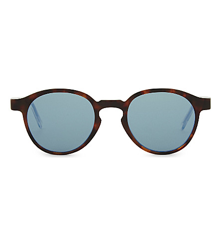 RETRO SUPER FUTURE The Iconic Series round-frame sunglasses (Tortoise