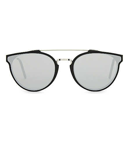 RETRO SUPER FUTURE Giaguaro cat-eye sunglasses (Black