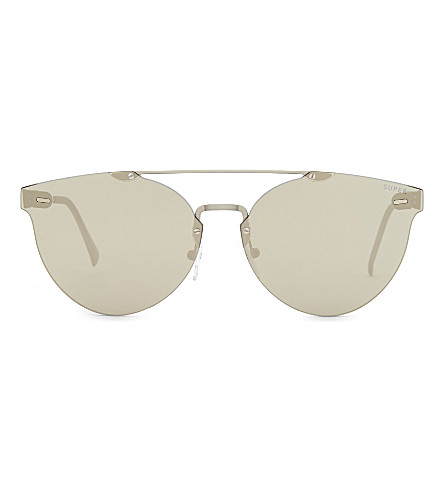 RETRO SUPER FUTURE Lucia cat-eye sunglasses (Grey