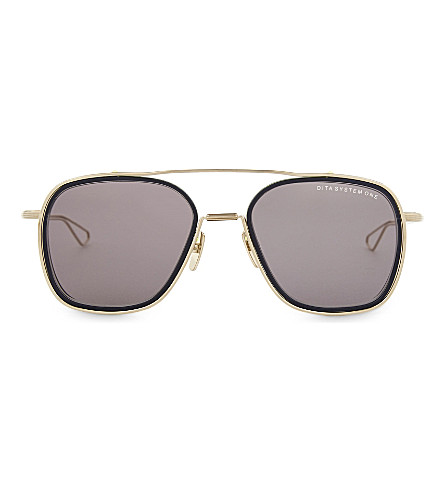 DITA System-One square-frame sunglasses