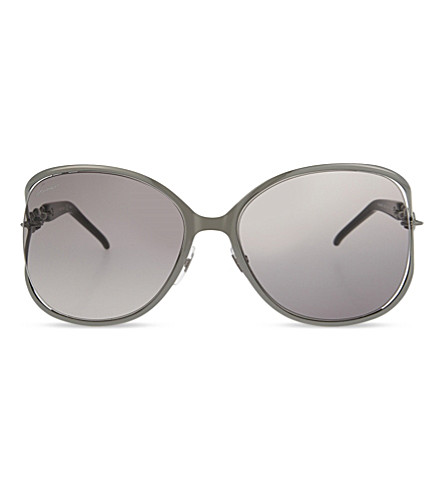 GUCCI GG4250 round-frame sunglasses