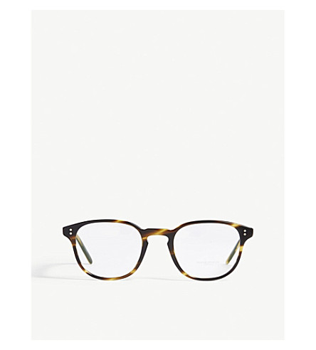 OLIVER PEOPLES Fairmont square optical glasses (Brown