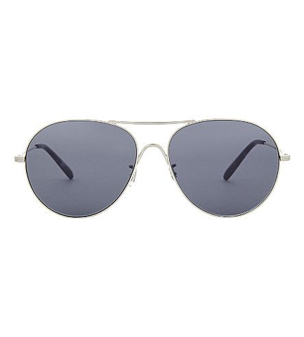 OLIVER PEOPLES Rockmore 先导框架太阳镜