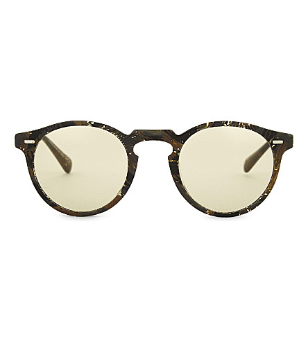 OLIVER PEOPLES Alain Mikli Gregory Pack Phantos-frame sunglasses