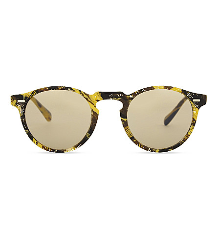 OLIVER PEOPLES Alain Mikli Gregory Peck phantos sunglasses