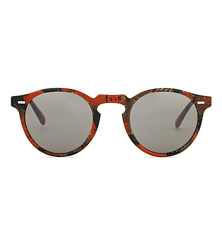 OLIVER PEOPLES Alain Mikli Gregory Peck Phantos-frame sunglasses