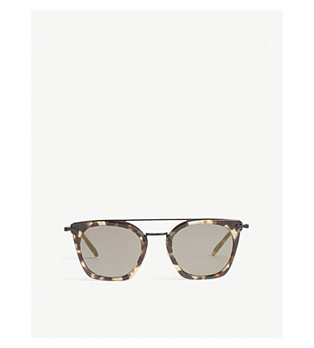 OLIVER PEOPLES Dacette cat-eye frame sunglasses (Havana