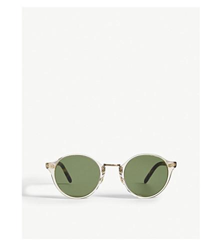 OLIVER PEOPLES Ov5185s vintage round-frame sunglasses (Honey